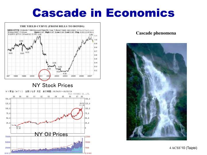 Cascade in Economics