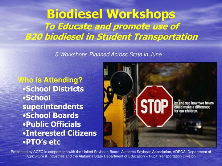 Biodiesel Workshops