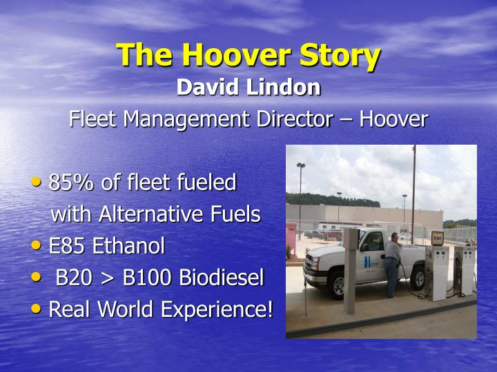 The Hoover Story