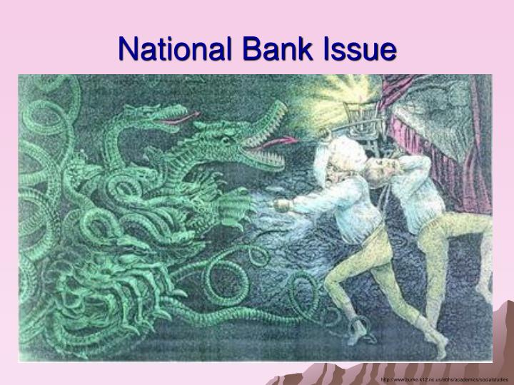 National Bank Issue