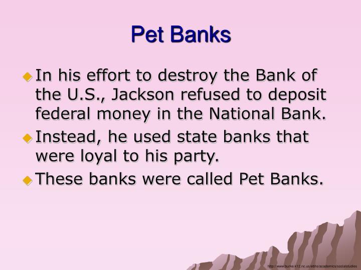 Pet Banks