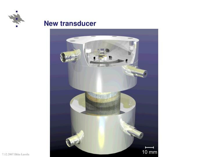 New transducer