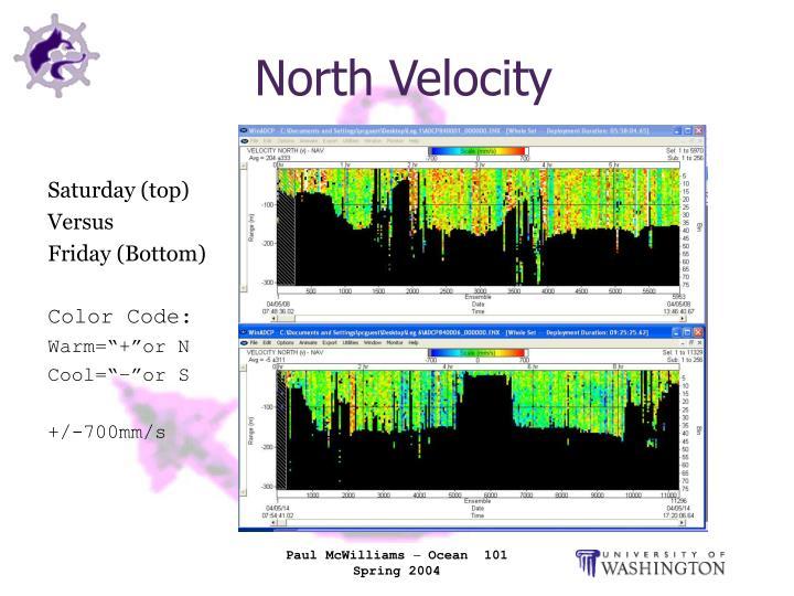 North Velocity
