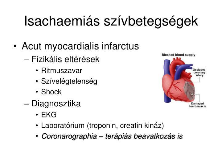 Isachaemiás szívbetegségek