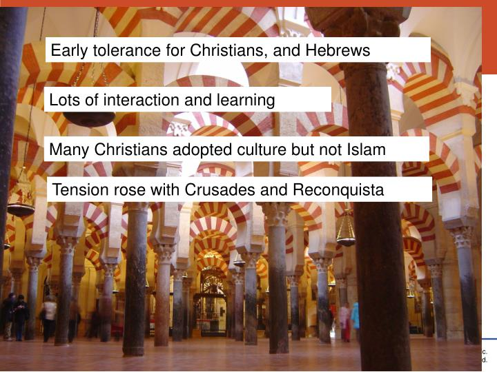 Early tolerance for Christians, and Hebrews