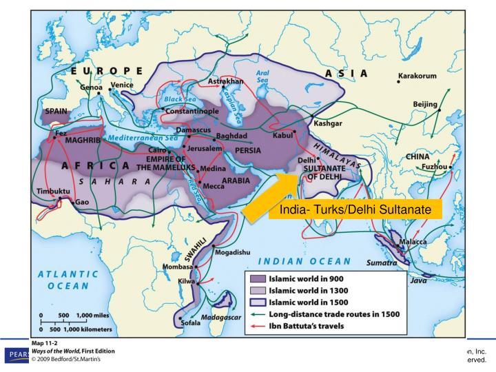 India- Turks/Delhi Sultanate