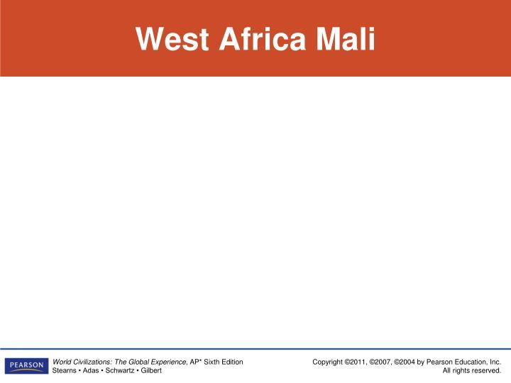 West Africa Mali