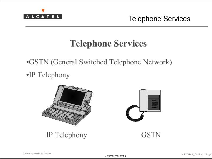 Telephone services