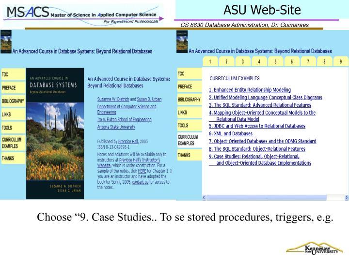 ASU Web-Site