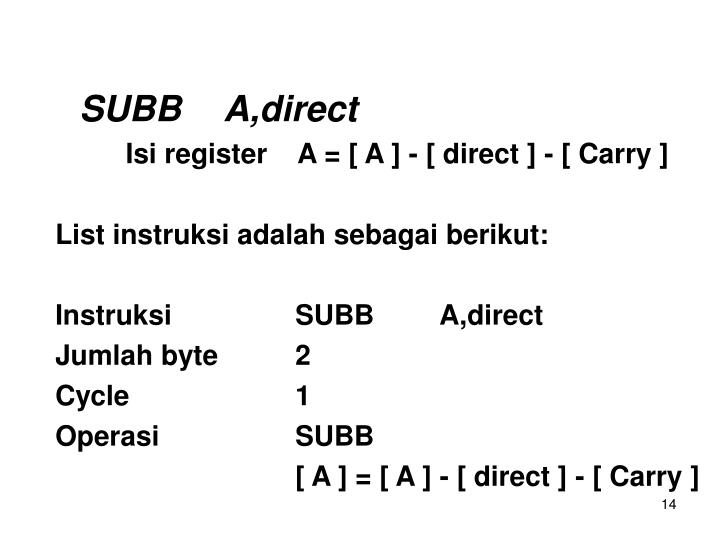 SUBBA,direct