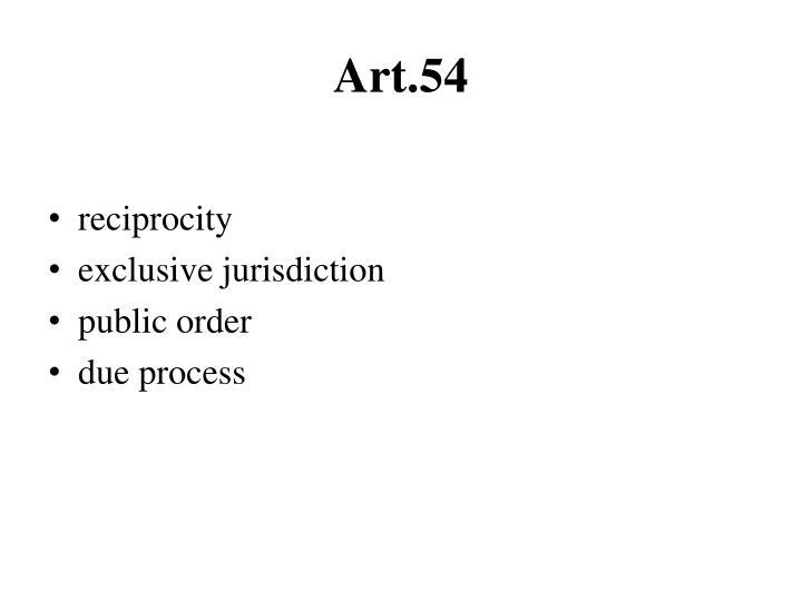 Art.54
