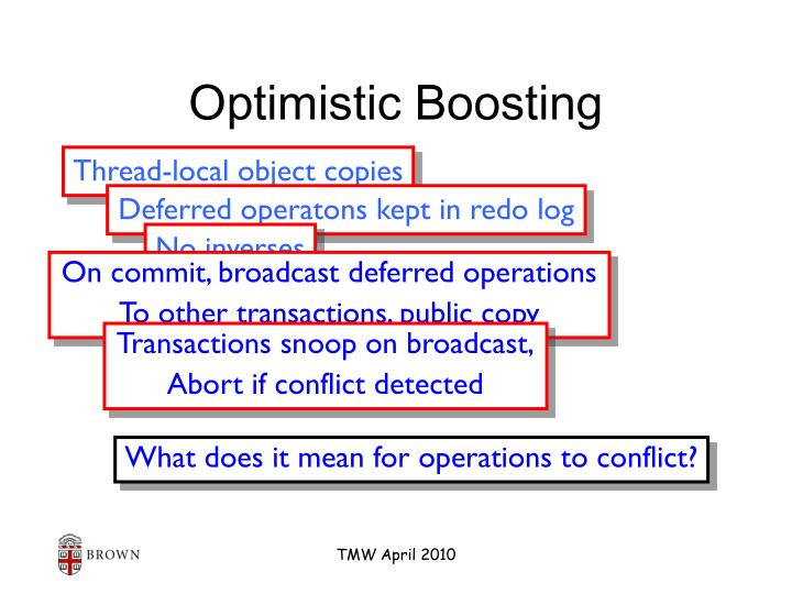 Optimistic Boosting
