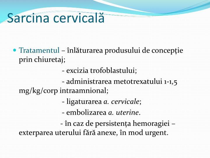 Sarcina cervicală