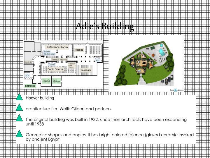 Adie's Building