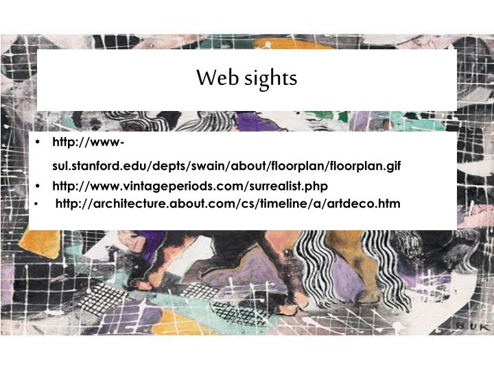Web sights