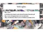 web sights