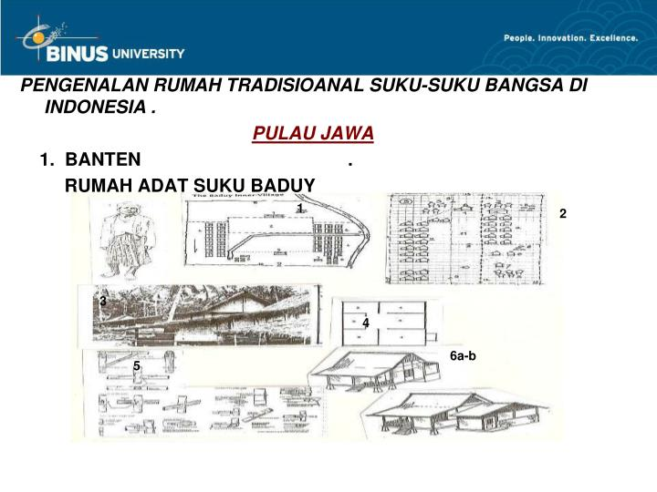 PENGENALAN RUMAH TRADISIOANAL SUKU-SUKU BANGSA DI INDONESIA .