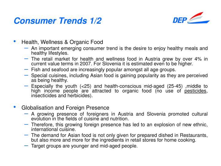 Consumer Trends 1/2