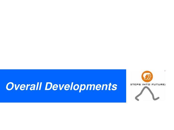 Overall Developments