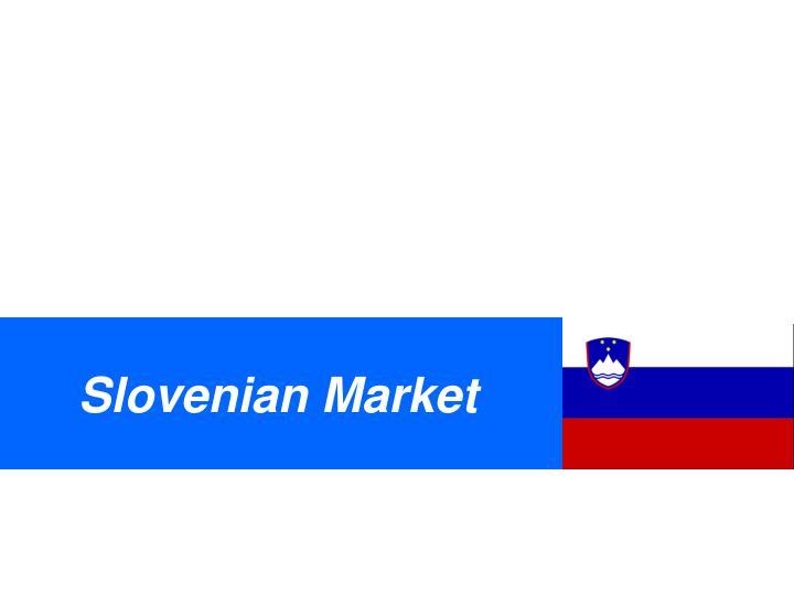 Slovenian Market