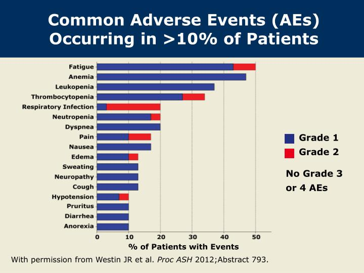 Common Adverse Events (AEs) Occurring in >10% of Patients
