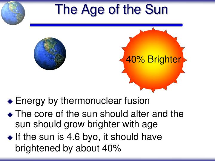 The Age of the Sun