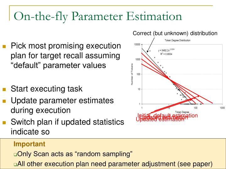Initial, default estimation