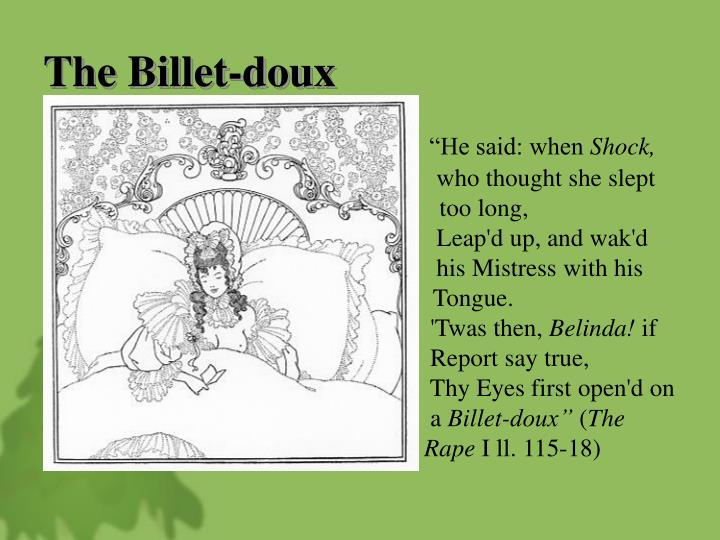 The Billet-doux