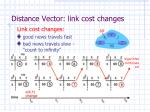 distance vector link cost changes1
