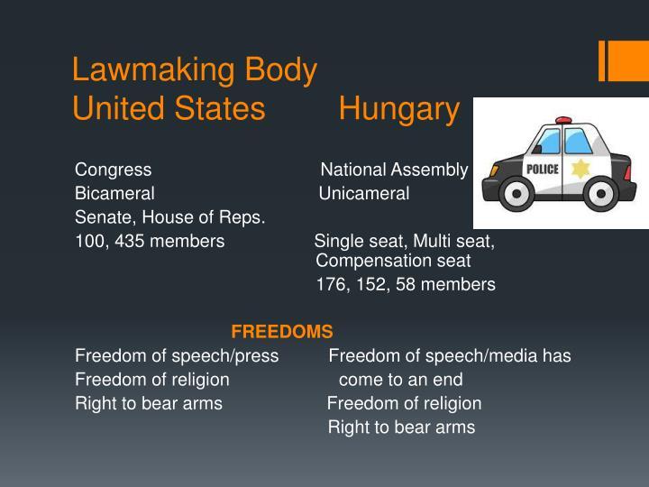Lawmaking Body