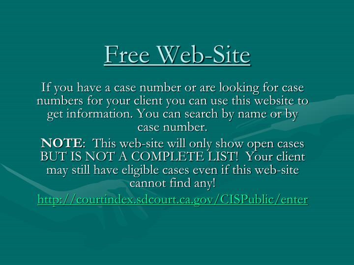 Free Web-Site
