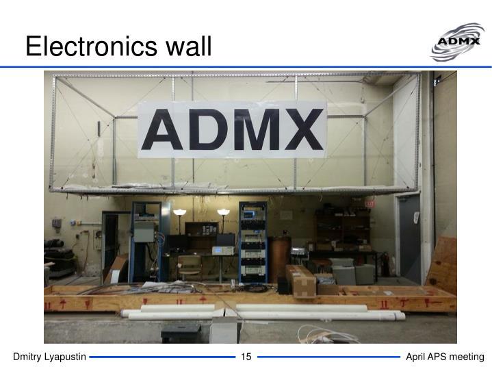 Electronics wall