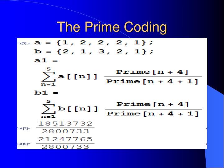 The Prime Coding