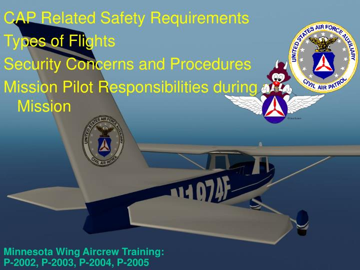 minnesota wing aircrew training p 2002 p 2003 p 2004 p 2005