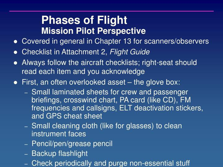 Phases of Flight