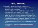 video imaging1
