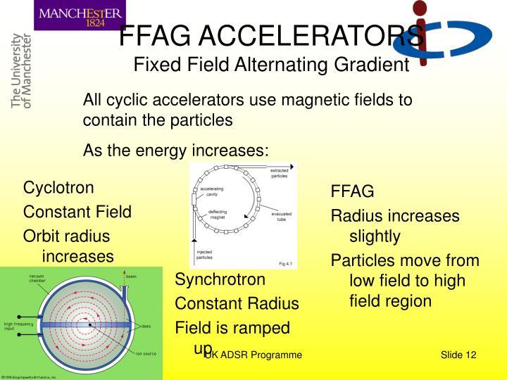 FFAG ACCELERATORS