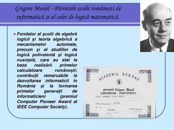 Grigore Moisil -