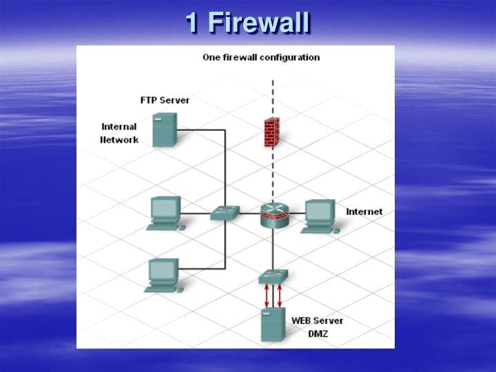 1 Firewall