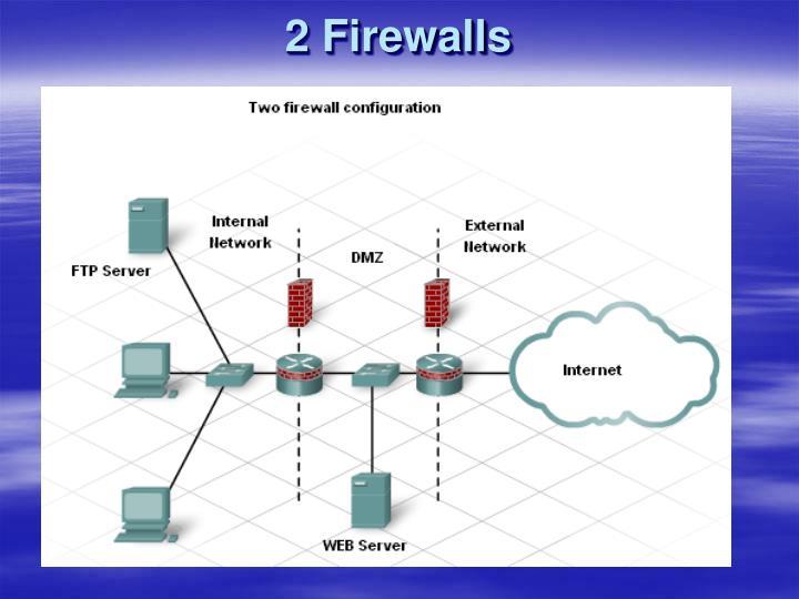 2 Firewalls