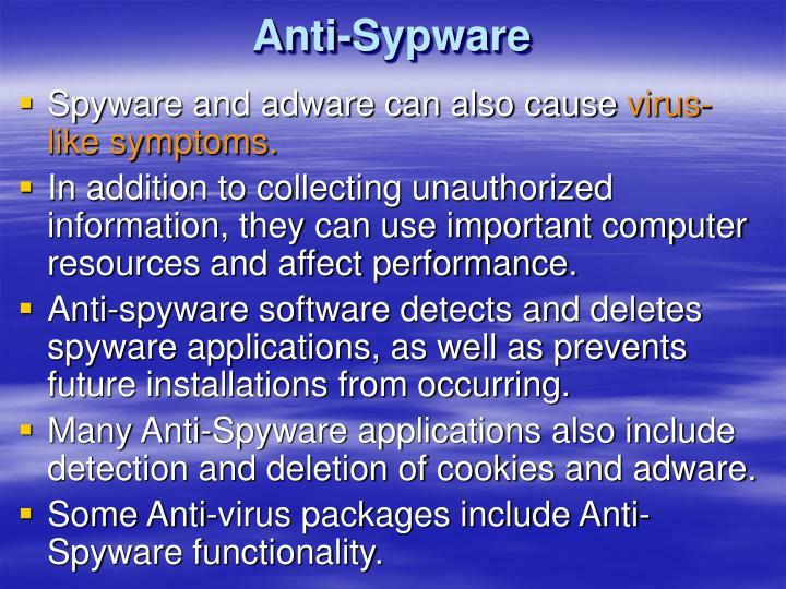 Anti-Sypware