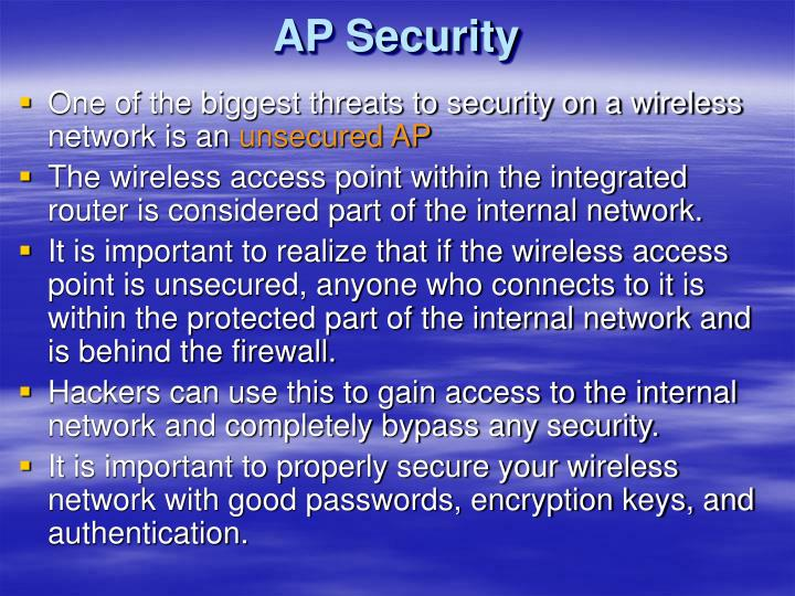 AP Security