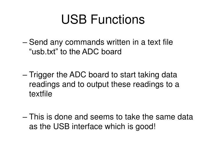 Usb functions1