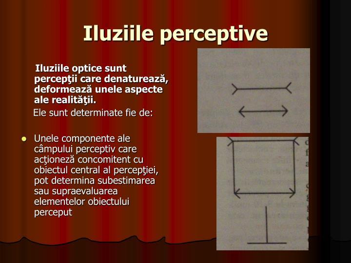Iluziile perceptive