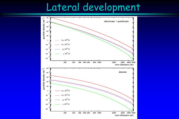 Lateral development