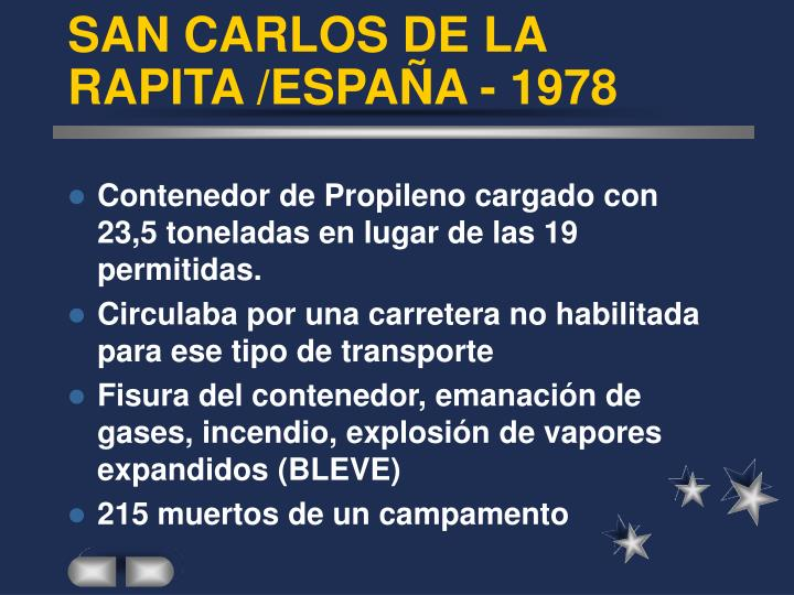 SAN CARLOS DE LA RAPITA /ESPAÑA - 1978