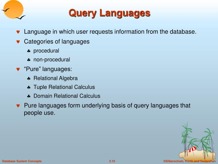 Query Languages