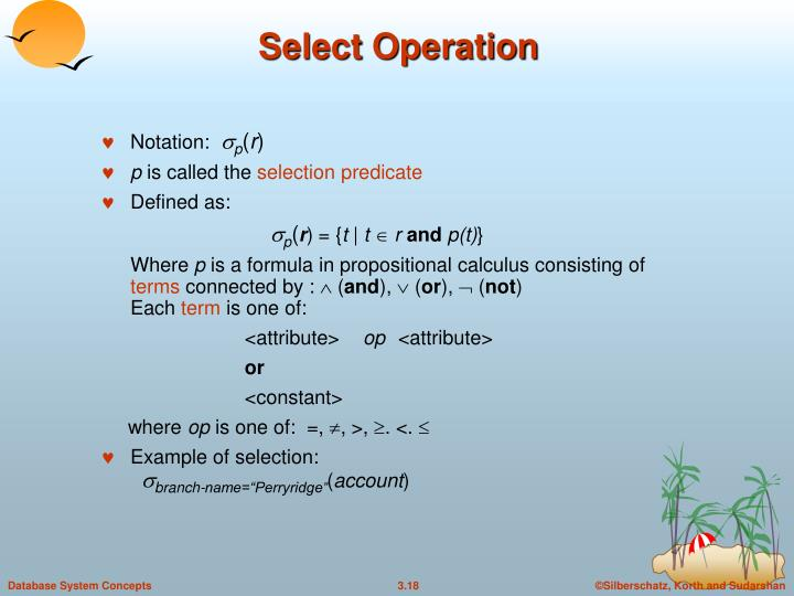 Select Operation