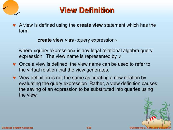 View Definition