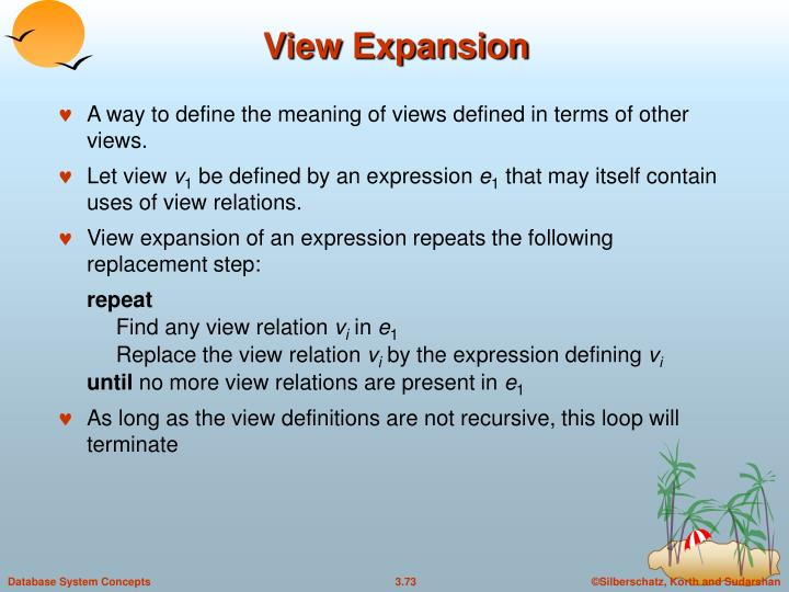 View Expansion